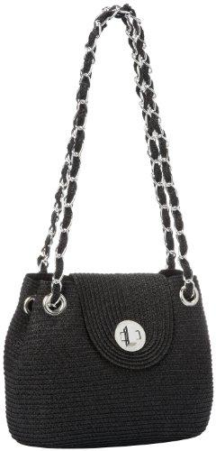 saks-fifth-avenue-chain-handle-straw-bag-black