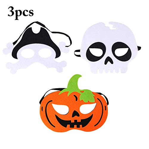 Joyibay Kids Halloween Mask Felt Mask Party Cosplay Mask Masquerade Mask for Kids