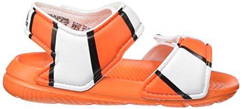 adidas Unisex Baby Disney Akwah 9 I Lauflernschuhe Mehrfarbig (Orange/Core Black/Ftwr White)