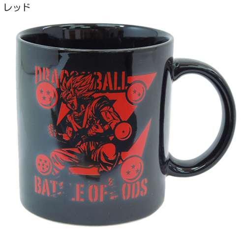 God mug with Dragon Ball Z God (Ceramic) anime character goods mail order / [red] (japan import)