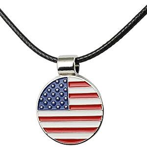 PINMEI Golf Bling Ball Marker Magnetic Necklace Great Golf Gift Women