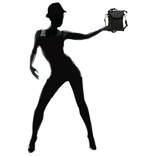 femme TS1031 pour Noir décoration à porté à Petit main CASPAR l'épaule tressée sac avec dRq7dH
