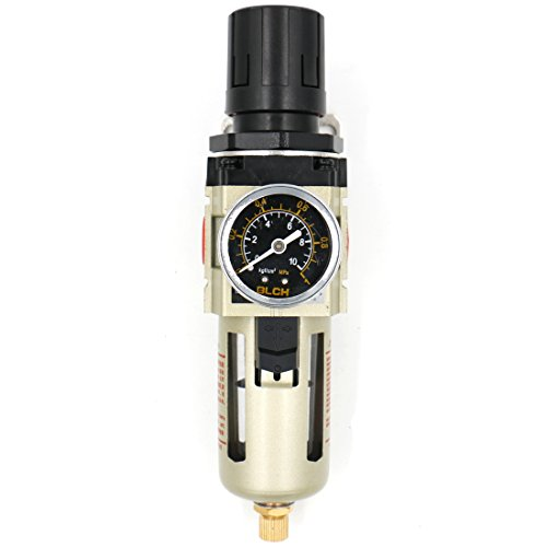 Baomain Air Souce Treatment Filter Regulator AW3000-03 Pneumatic w Pressure Gauge by Baomain