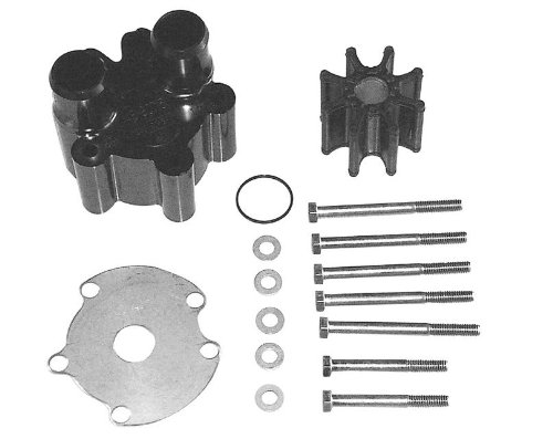 QuickSilver 807151A14 Sea Water Pump Body Kit - MerCruiser Engines with One-Piece Engine Mounted Sea Water Pumps (Impeller Quicksilver)