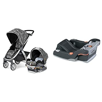Amazon Com Chicco Bravo Trio Travel System And Keyfit And Keyfit30