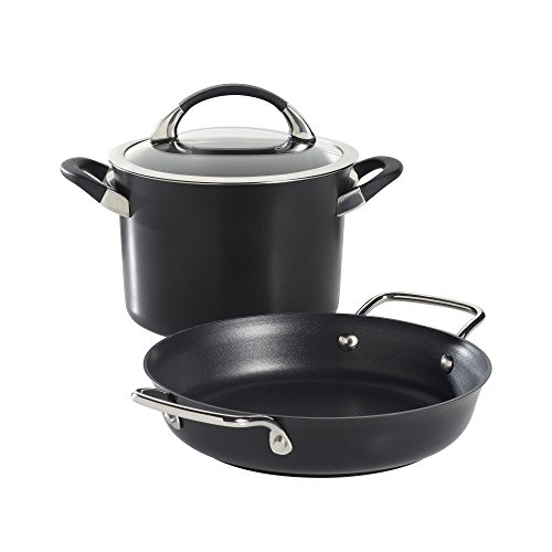 Circulon Symmetry 3-pc. Hard-Anodized Nonstick Cookware Set -