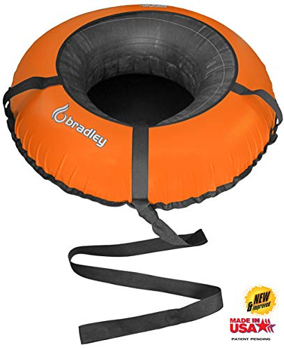 Bradley Commercial Snow Tube Sled with 48' Cover (Orange)