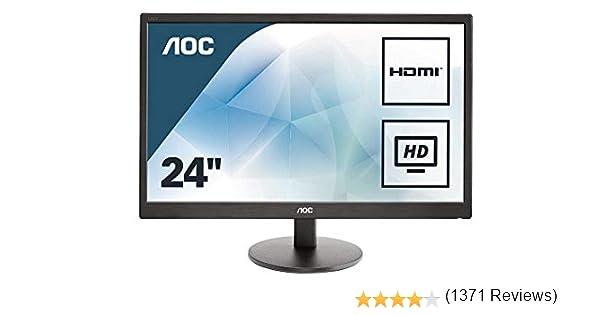 AOC E2470SWH - Monitor de 23.6