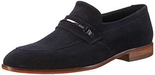 HUGO Dressapp_loaf_sd 10197222 01, Mocassini Uomo, Blu (Dark Blue), EU