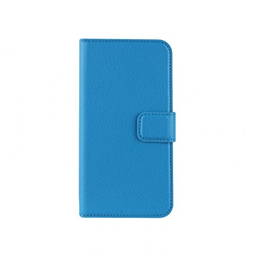 Xqisit 17974 Slim Wallet Case for iPhone 5S - Blue - mobile phone cases