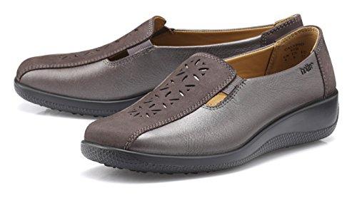Extra Women's Calypso Shoe Multi Hotter Silver Gunmetal Wide TtwP4WP5xq