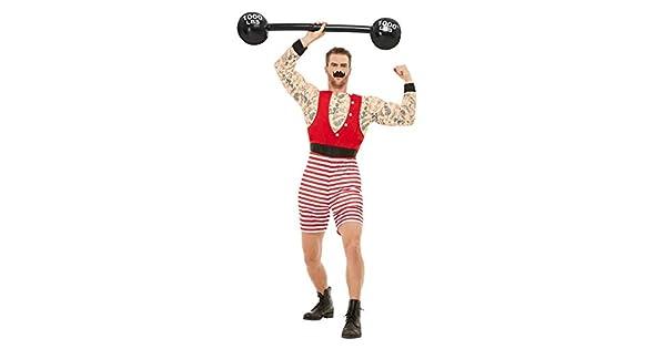 Amazon.com: Smiffys 50807L - Disfraz de Strongman para ...
