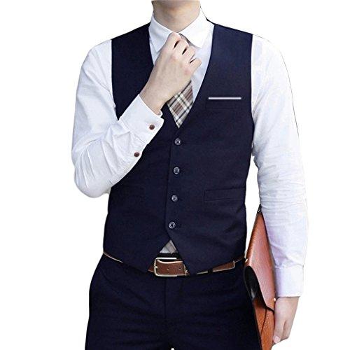 durable modeling laixing de vestir para hombre vestido traje esmoquin  chaleco abrigo slim traje de negocios 5613bd419ebc