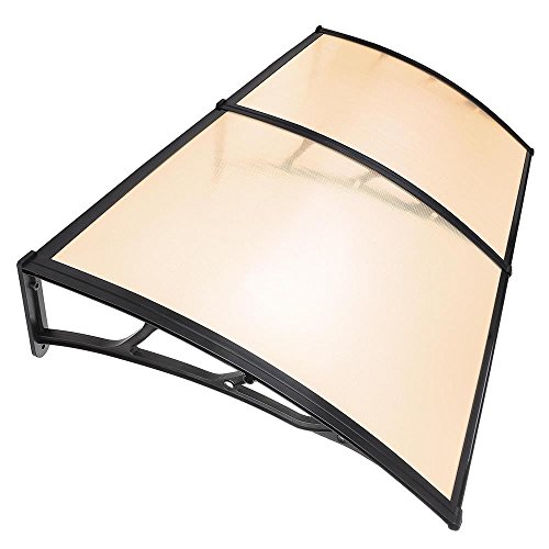 oldzon 40x80 Sun Shade Canopy Awning for Windows Doors Polyc