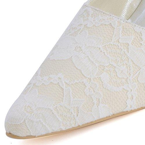 Kevin Fashion , Chaussures de mariage tendance femme - Jaune - jaune, 43