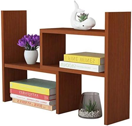 Schreibtisch Organisator Einstellbare Desktop-Bücherregal Bücherregal Assembly Desktop-Speicher-Organisator 15 cm Breite Anzeigen-Regal-Rack Home Storage-Rack for Home-Office Briefablage