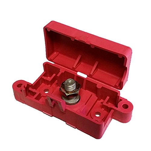 Battery Junction Block - Terminal Block With Snap Lid - 3/8