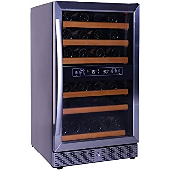 Amazon Com Whynter Cwc 351dd Freestanding Wine Cooler And