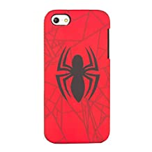 Spiderman iPhone 5/5s Case-Retail Packaging, Red