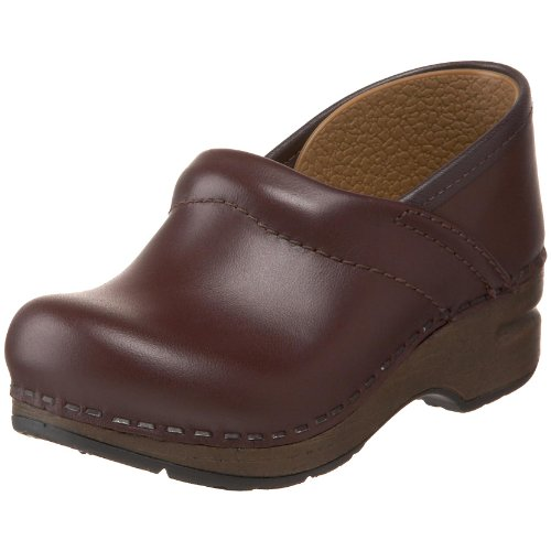 Dansko Gitte Leather Clog ,Mocha,26 EU