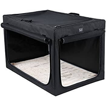 """Petsfit 30""""x20""""x19"""" Indoor/Outdoor Soft Portable and Foldable Travel Pet/Dog Home/Crate/Cage Steel Frame Home for Medium Dogs"""