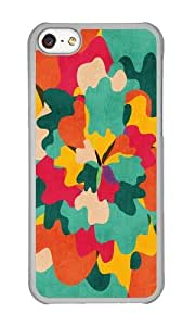 linJUN FENGApple Iphone 5C Case,WENJORS Uncommon Aloha Camo Hard Case Protective Shell Cell Phone Cover For Apple Iphone 5C - PC Transparent