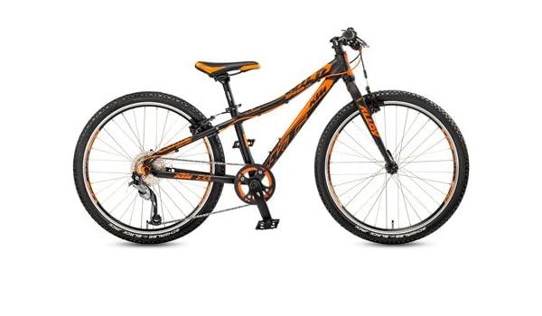Bicicleta infantil KTM Wild Speed 24.9 Light Negro/Naranja + ...