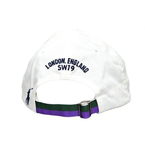 1b06f62645e Ralph Lauren Casquette Wimbledon Blanche pour Homme  Amazon.fr  Vêtements  et accessoires