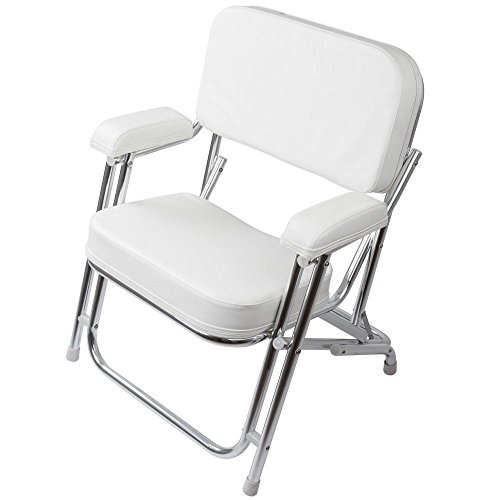 Springfield 1080021SS Classic Folding Deck Chair Ss Made ...