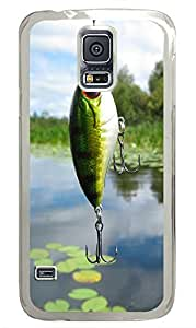 Samsung Galaxy S5 Fish Bait PC Custom Samsung Galaxy S5 Case Cover Transparent