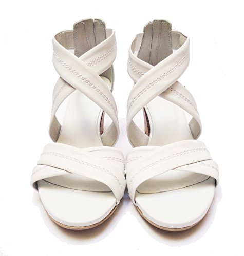 Nero Giardini - Sandalias de vestir de Piel para mujer blanco Bianco 36
