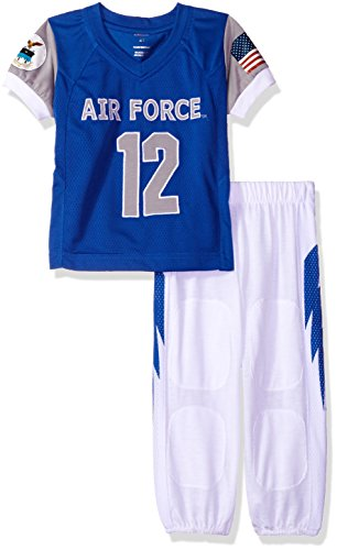 - FAST ASLEEP NCAA Air Force Falcons Boys Toddler/Junior Football Uniform Pajamas, Size 7T, Light Blue/White