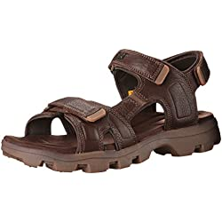 CAT Footwear Pathfinder Men's Sport Sandals, Salt Marsh, Size 10