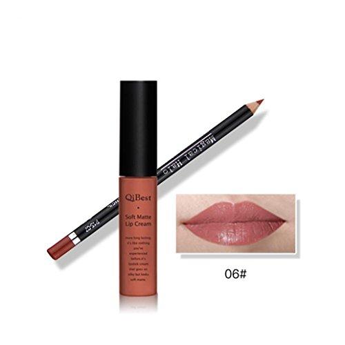 Fenleo Waterproof Pencil Long Lasting Lipliner With Lipstick