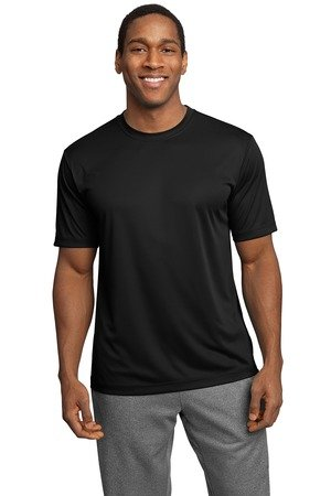Sport-Tek Men's PosiCharge Competitor Tee L Black from Sport-Tek