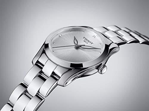 (Tissot Women's T-Wave - T1122101103600 Silver/Grey One Size)