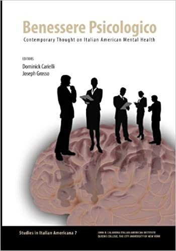 Book Benessere Psicologico: Contemporary Thought on Italian American Mental Health