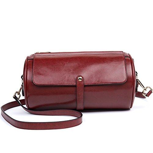 Crossbody Bag for Women Small Zip Clutch Purse Handbag Leather Women Shoulder Bag by CALLAGHAN ()