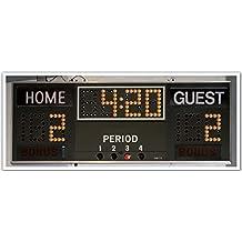 J.P. London PAN5327 uStrip Hockey Scoreboard Timer Clock High Resolution Peel Stick Removable Wallpaper Sticker Mural, 48-Inch Wide by 19.75-Inch High