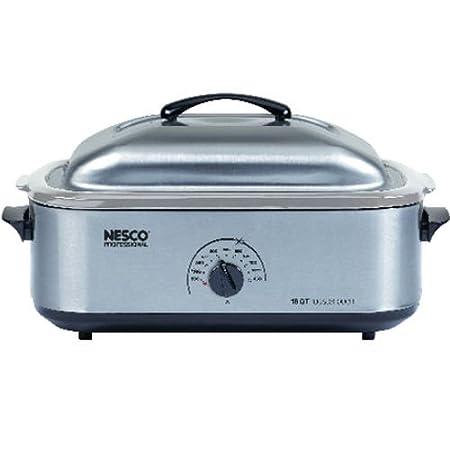 Nesco 4818-25-20 18-Quart Roaster Oven, Stainless Steel