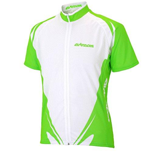 neon Pro Airtracks Cycling Jersey jersey Maniche Cycling jersey traspirante corte Zip Team Weiß full Funktions Xq6wgqAxS