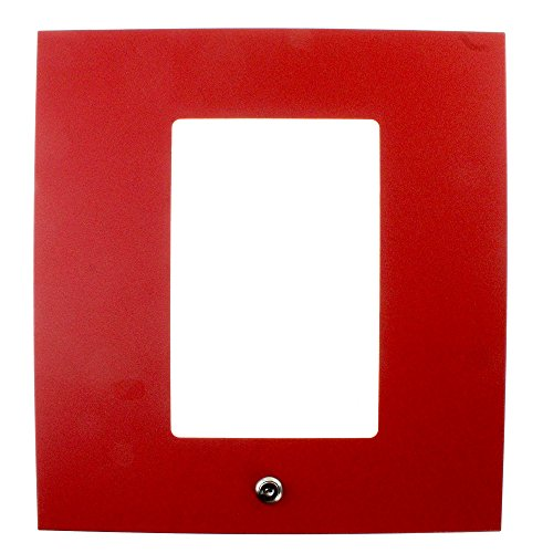 Adpt Panel - Siemens XLS-RCC13FR-ADPT XLS Indoor Rated Locking Control Panel Door, Red
