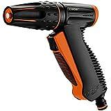 Claber 50114 9561 Precision Lancia a Pistola, Nero/Arancione