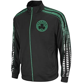 adidas NBA Boston Celtics Vibe – Chaqueta para Hombre - 5718A301ABCEZ1, Negro (Black/