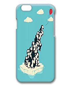 iCustomonline Balloon Case for iPhone 6 4.7 inch Protective Back 3D Hard Sides