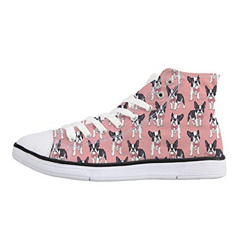 Coloranimal A Terrier Alto Donna Collo Boston fwFWqfg8r