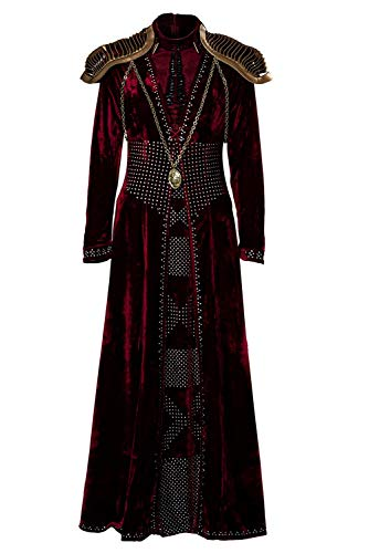 Women's Cosplay Costume Game of Thrones Cersei Lannister Dress Outfit Full Suit Uniform Red (Large, Cersei 2) -