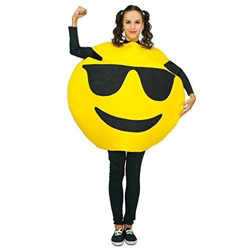 Adult Unisex Emoticon Costumes One Size -