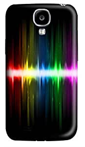 Samsung Galaxy S4 I9500 Hard Case - The Colorful Lines 2 Galaxy S4 Cases