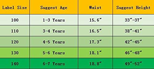 Confezione da 6 Piccola Bambine e Ragazze Biancheria Intima in Cotone da 1 a 7 Anni, Mutandine delle Neonate Undies… 4